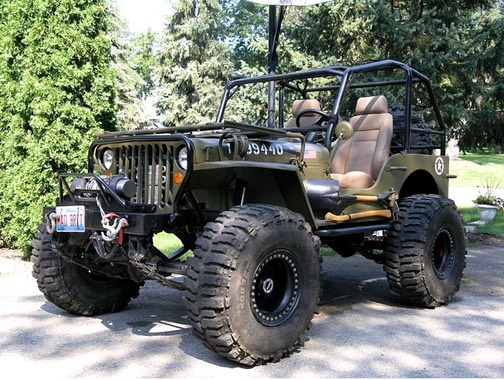 Willys Mb Build Up Jeeping Off Road Graham J Mcneill