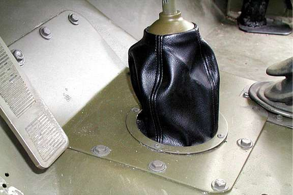 shifter plate boot web